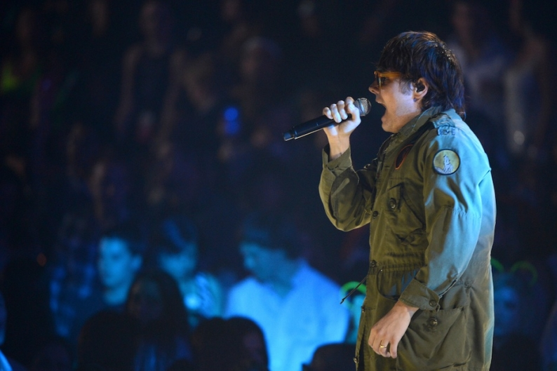 Gerard Way at the iHeartRadio Music Festival in September 2012 / Photo by Getty Images