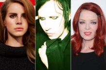 Lana Del Rey / Marilyn Manson / Shirley Manson (Getty Images)