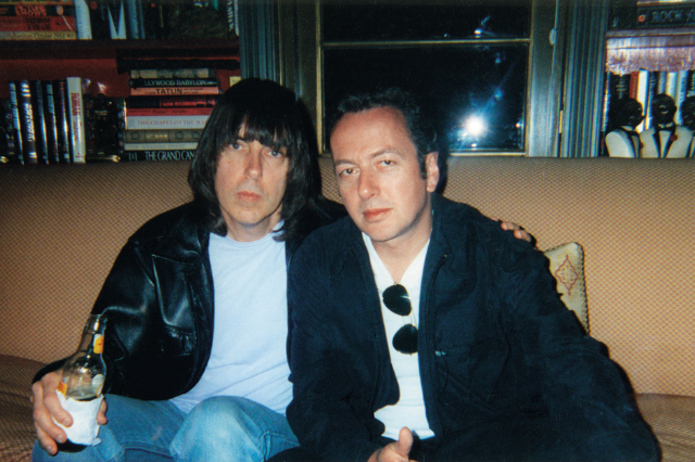 Johnny Ramone & Joe Strummer / Photo courtesy JRA LLC photo archives