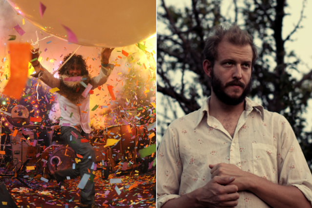 Flaming Lips (Getty Images) / Bon Iver