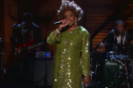 Macy Gray Does Her Raspy My Chemical Romance Cover on 'Conan'