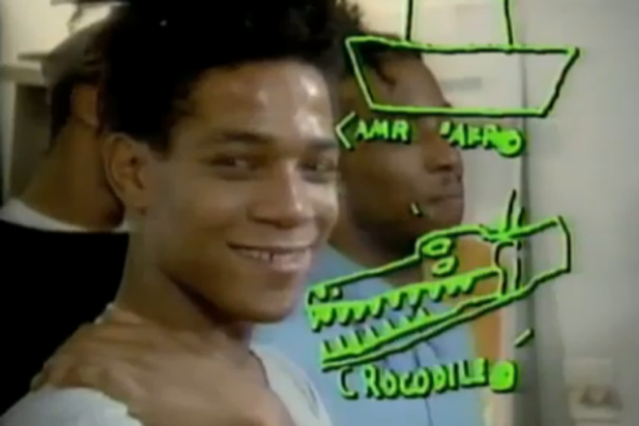 Jean-Michel Basquiat on Art Breaks