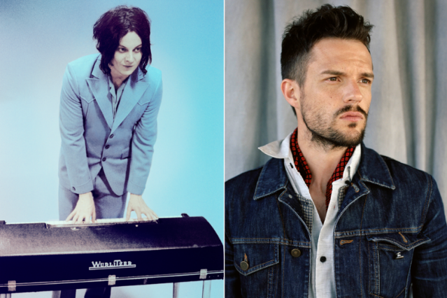 Jack White (Photo by Jo McCaughey) / Brandon Flowers