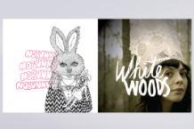 Nobunny & White Woods album art
