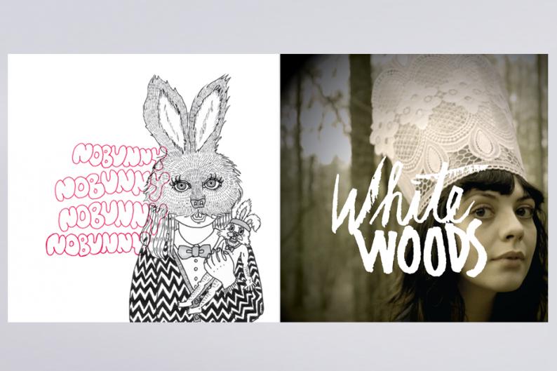 Nobunny & White Woods album art
