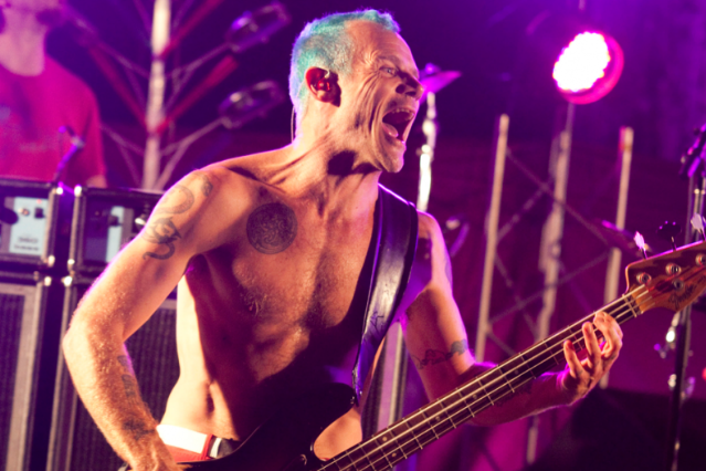 Flea (Photo by SPIN Staff)