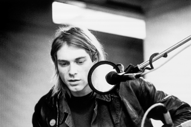 Kurt Cobain / Photo by Michel Linssen/Redferns