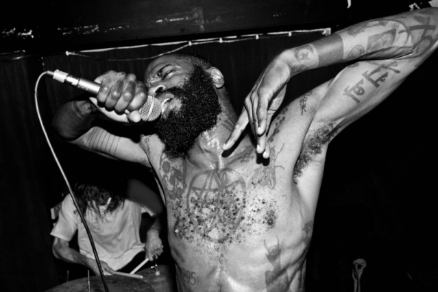 Death Grips / Photo by Jonny Magowan