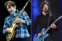 John Fogerty (Tim Mosenfelder/Getty) / Dave Grohl (Didier Messens/Redferns)