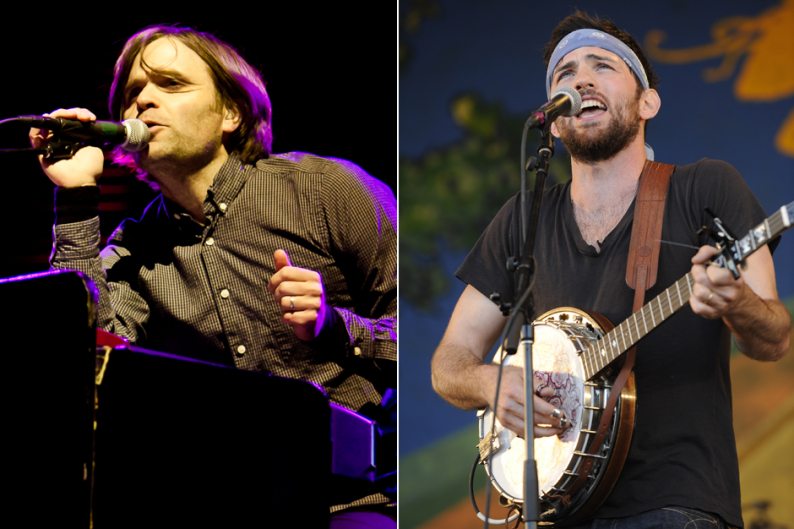Death Cab (Christopher Nelson) / Avett Brothers (Getty Images)