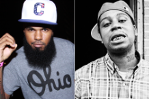 Stalley (Photo by Johnny Nunez/Wire Image) and Zilla (Photo by 30 Pack)