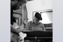 Dan Auerbach & Dr. John / Photo by Alysse Gafkien