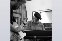 Dan Auerbach & Dr. John / Photo by Alysse Gafkien