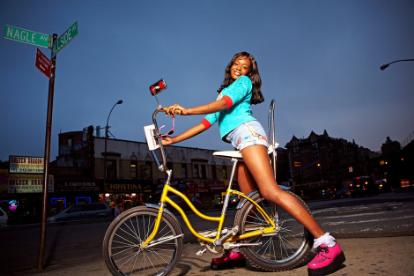 Azealia Banks (not the hipster moron)