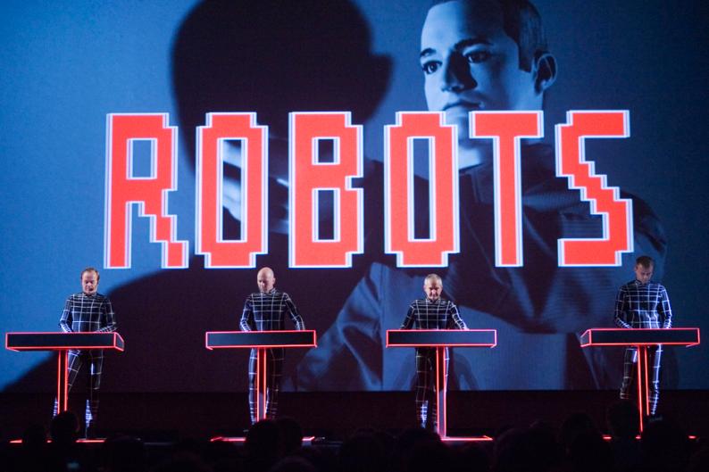Kraftwerk / Photo by Katherine Glicksberg