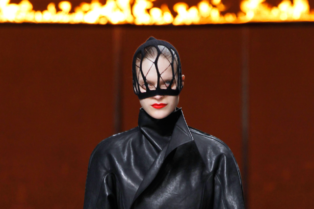 Rick Owens' show in Paris / Francois Guillot/AFP/Getty