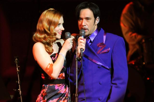 Scarlett Johansson & Fred Armisen in 2009 / Kevin Mazur/WireImage