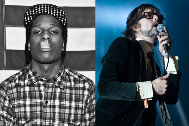A$AP Rocky/Jarvis Cocker / Getty Images (Cocker)