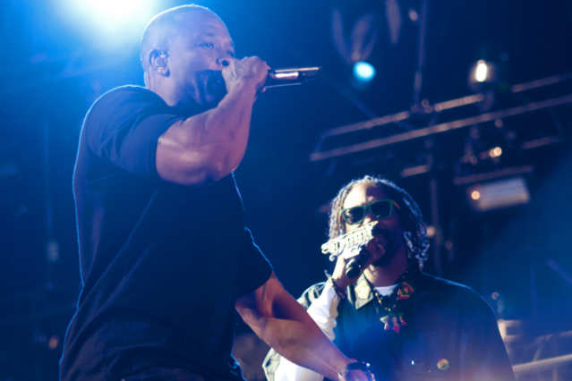 Dr. Dre & Snoop Dogg / Photo by Nathanael Turner