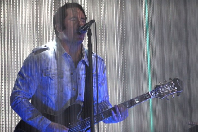 Trent Reznor performs with How to Destroy Angels at Coachella / Photo by Getty Images