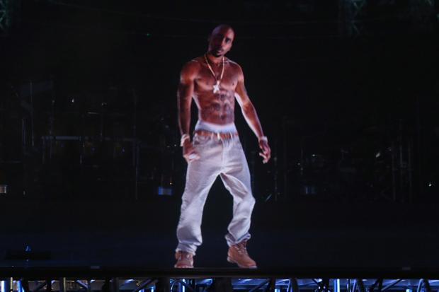 """Tupac Shakur"" / Christopher Polk/Getty Images for Coachella"