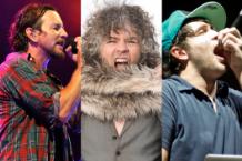 Eddie Vedder (Getty) / Wayne Coyne (Getty) / Pretty Lights (Ian Witlen)