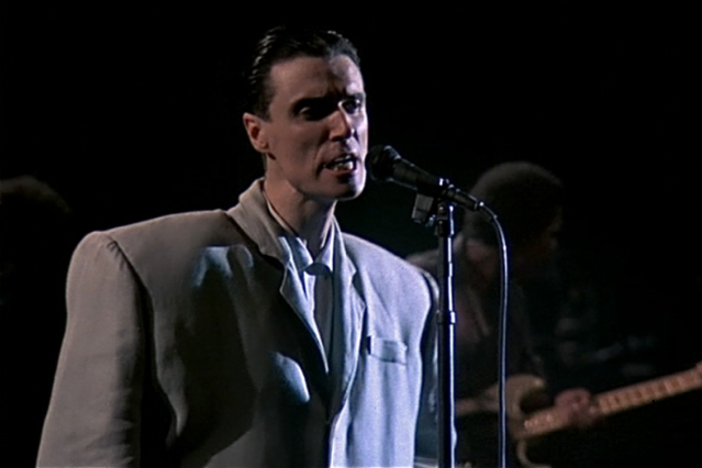 David Byrne in <i>Stop Making Sense</i>
