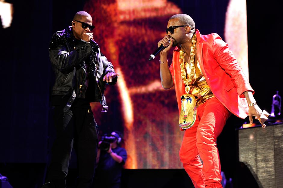 Kanye West & Jay-Z / Photo by Kevin Mazur/WireImage