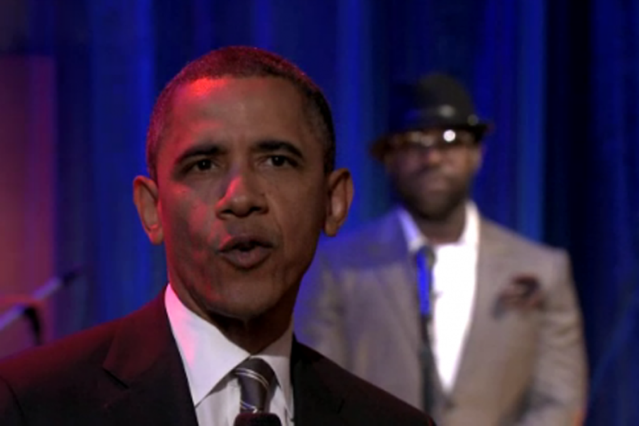 President Obama on <i>Fallon</i>