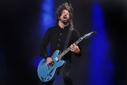 Dave Grohl / Photo by Didier Messens/Redferns