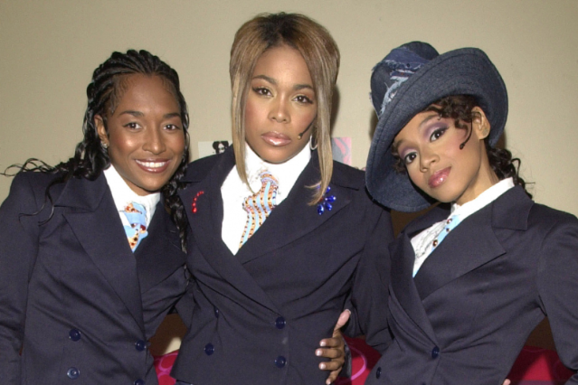 TLC in 2001 / Photo by Kevin Mazur/WireImage