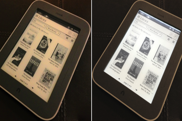 Barnes & Noble's Nook Gets a Backlight | SPIN
