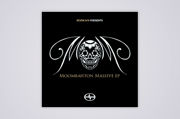 <i>Moombahton Massive</i> EP artwork