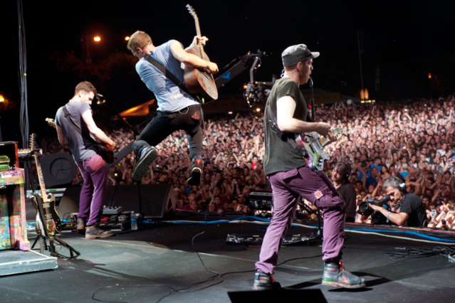 Coldplay / Photo by Cambria Harkey