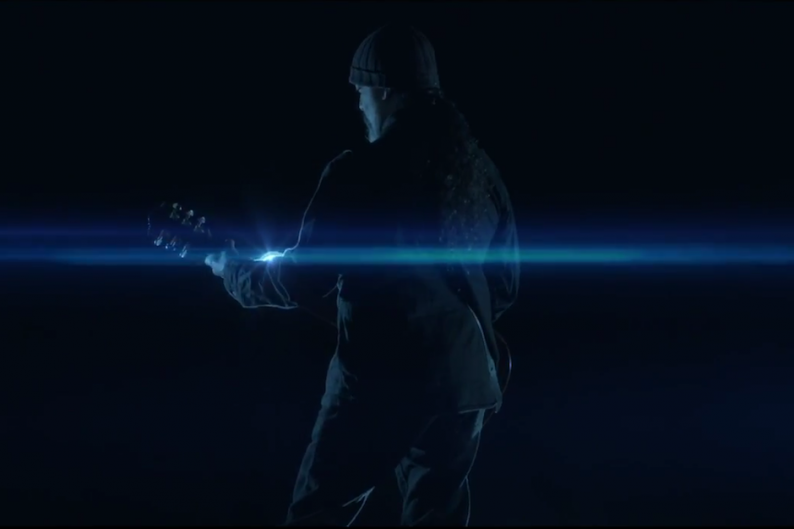 Soundgarden's Kim Thayil in the 'Live to Rise' video