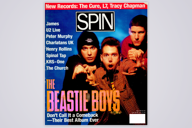 SPIN's May 1992 cover / Photo by Enrique Badulescu