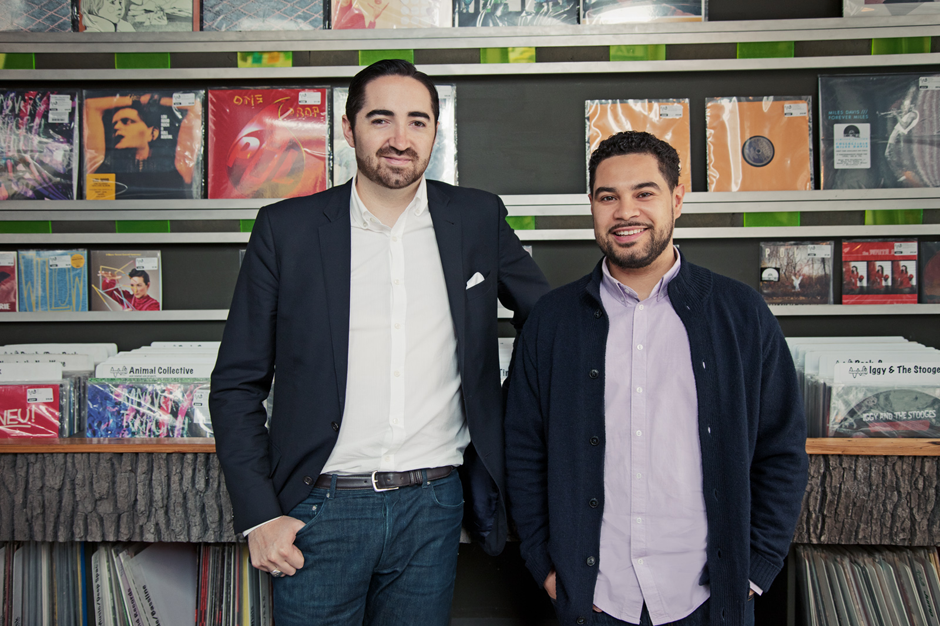 Sam Valenti IV and Miguel Senquiz, co-founders of Drip. (Photo courtesy of SPIN)