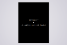 <i>Changeless Blue Flame</i>