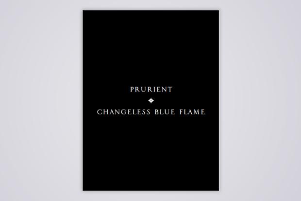 <i>Changeless Blue Flame</i>