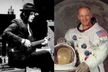 Jack White (Jo McCaughey) / Buzz Aldrin (Photo Courtesy NASA)