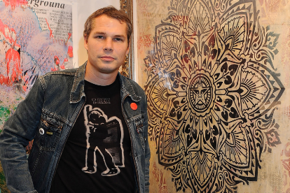Shepard Fairey / Photo by Valerie Macon/Getty
