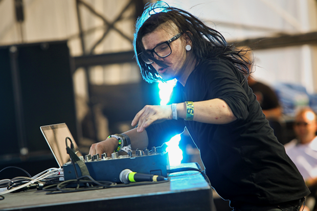 Skrillex / Photo by Ian Witlen