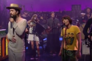 Edward Sharpe Lead 'Man on Fire' Hoedown on 'Letterman'