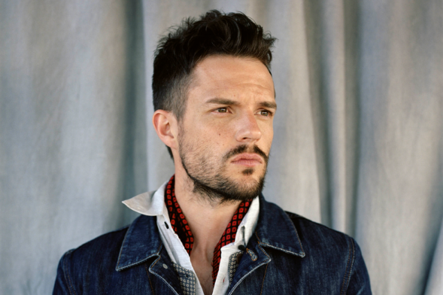 Brandon Flowers / Photo by Lucy Hamblin