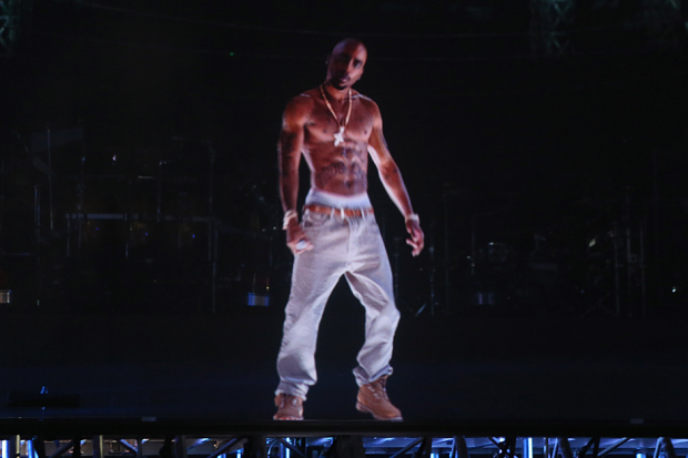 Hologram Tupac / Photo by Christopher Polk/Getty Images for Coachella