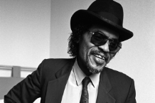 Chuck Brown at the Great Northern Hotel, London, UK on 25 March 1987 (David Corio/Getty)