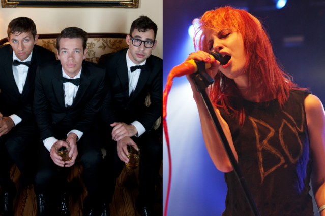 fun  and Paramore's Hayley Williams Do the Web's Thousandth