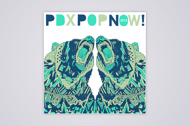 <i>PDX Pop Now!</i> album art