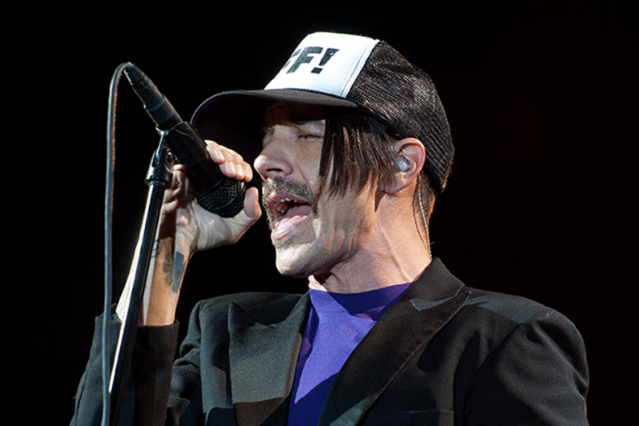 Anthony Kiedis / Photo by Chad Kamenshine