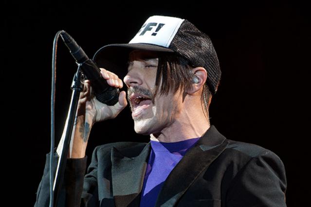 Anthony Kiedis / Photo by Chad Kamenshine